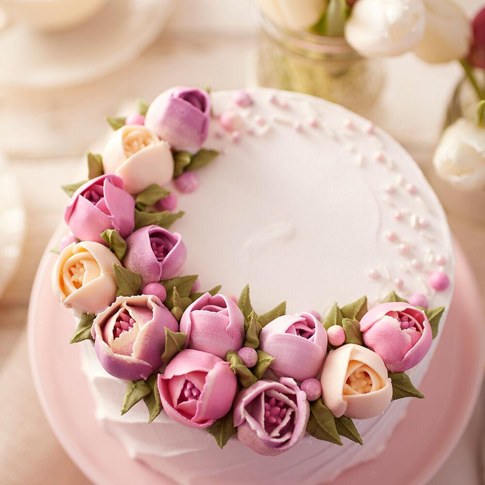 tulip cake - Cake Decorator