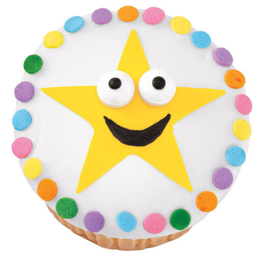 Staring Star Cupcakes