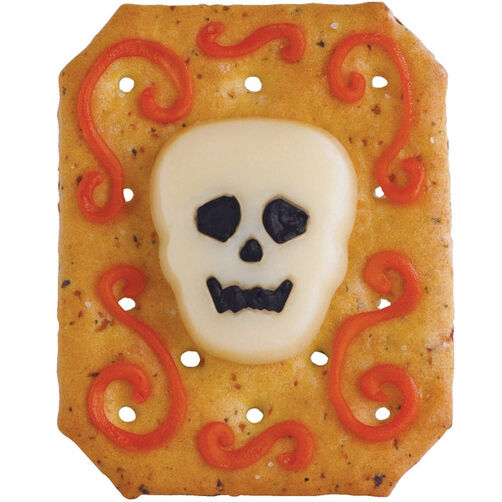Skull Cheese Head Appetizer