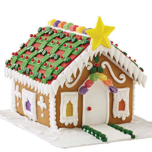 Star of the Holidays Gingerbread House #4