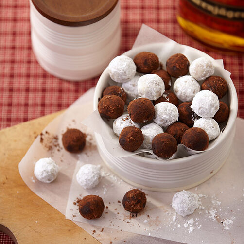 Honey Whiskey Balls