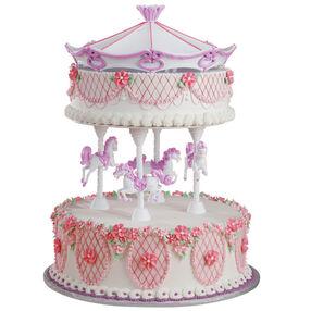 Princess Merry-Go-Round Cake