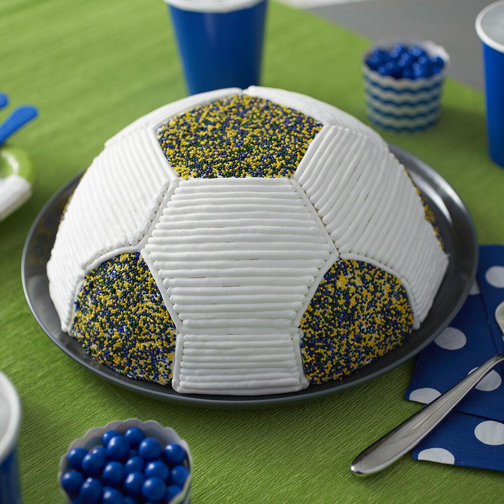 Go for the Goalie Soccer Cake Wilton