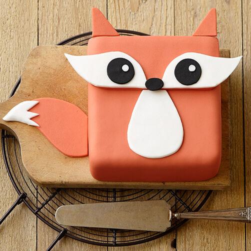 Festive Fox Cake