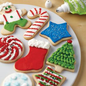 Looped Christmas Tree Cookies