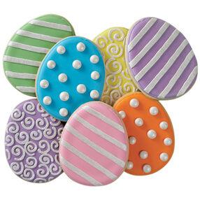 Eclectic Egg Cookies