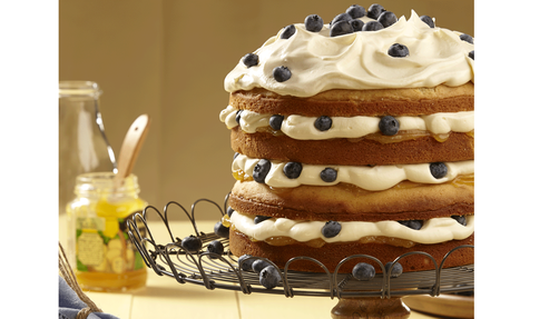 Lemon Blueberry Torte Recipe Wilton