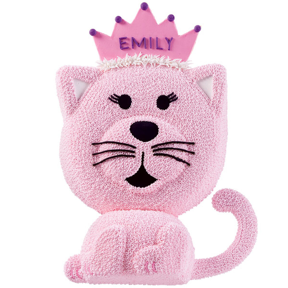 Kitty Cat Princess Cake Wilton