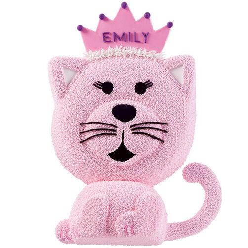 Kitty Cat Princess Cake Wilton