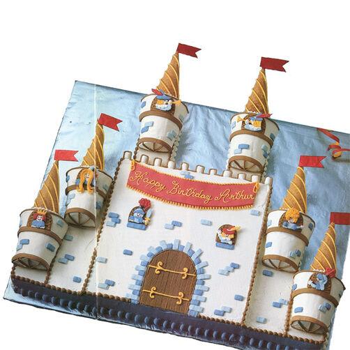 King Arthur's Castle Cake