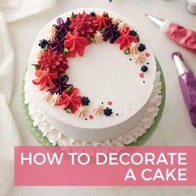 how to decorate a cake - How To Decorate A Cake