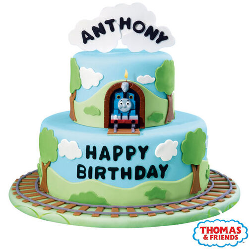 Thomas Is Right On Time Cake