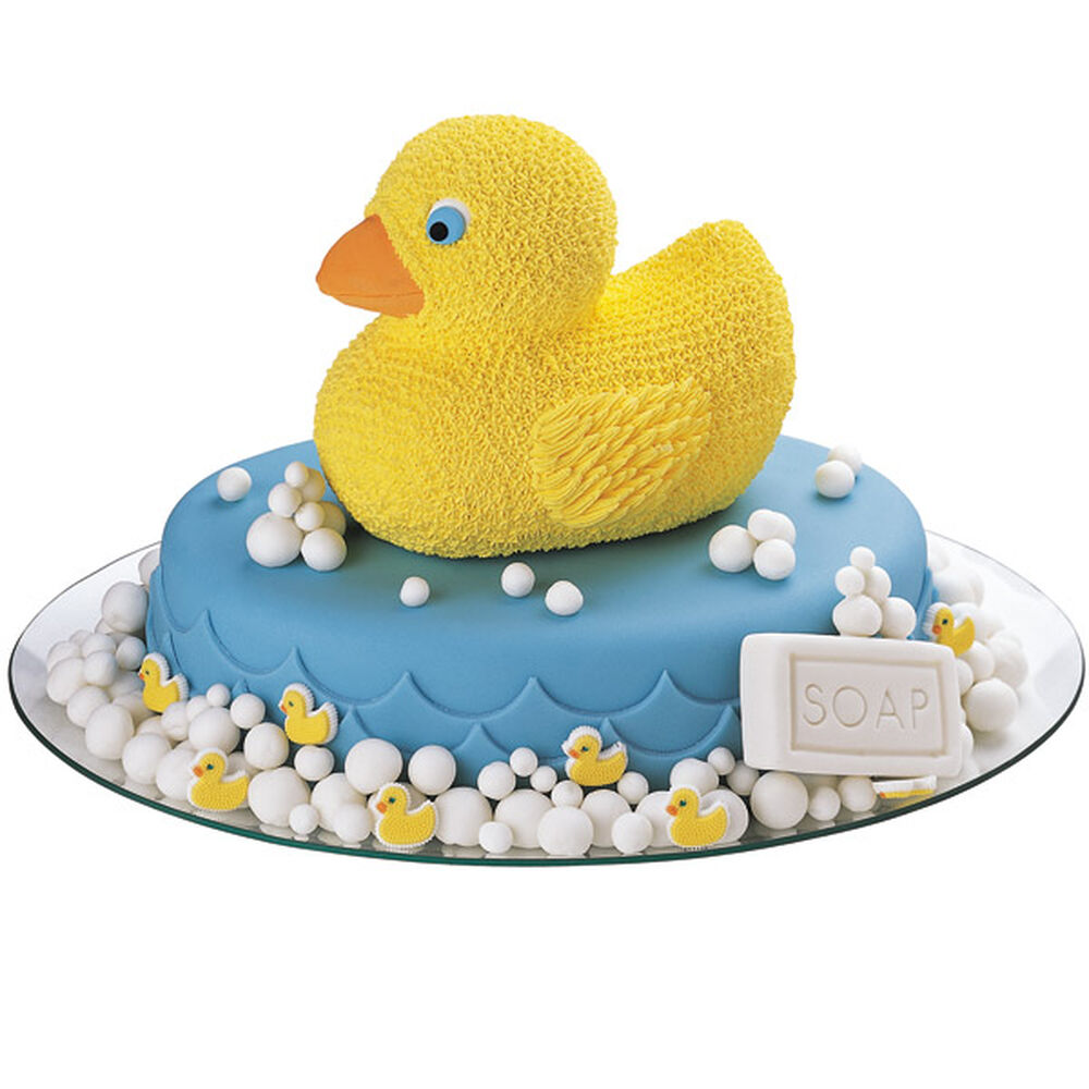 rubber ducky icing decorations wilton
