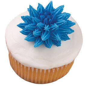 Pompom Flower Extravaganza Cupcake