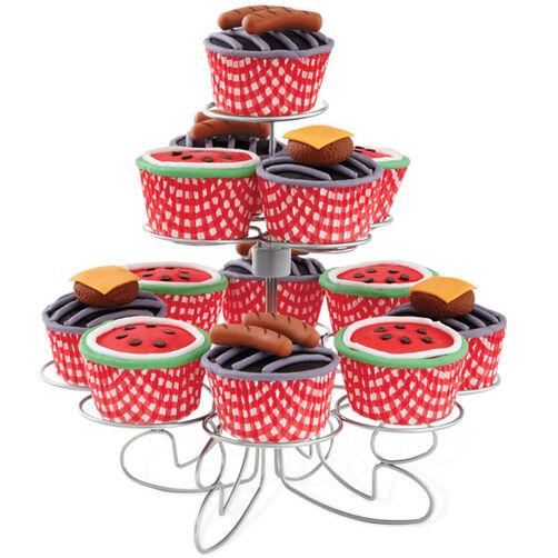 Summer Fun BBQ Cupcakes