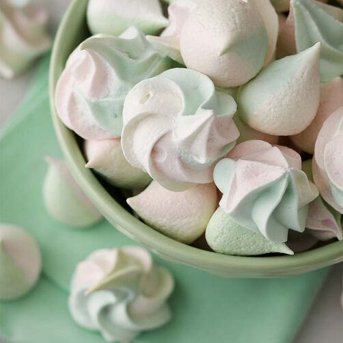 Wilton Color Swirl Meringue Cookies