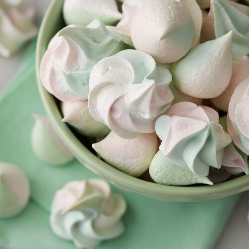 Color Swirl Meringue Cookies Wilton