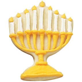Menorah Golden Lights Cookies