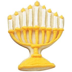 Menorah Golden Lights Cookies