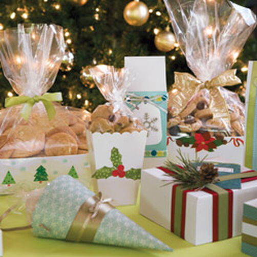 Christmas Cake Packaging Ideas : Wilton Holiday Cookie Packaging