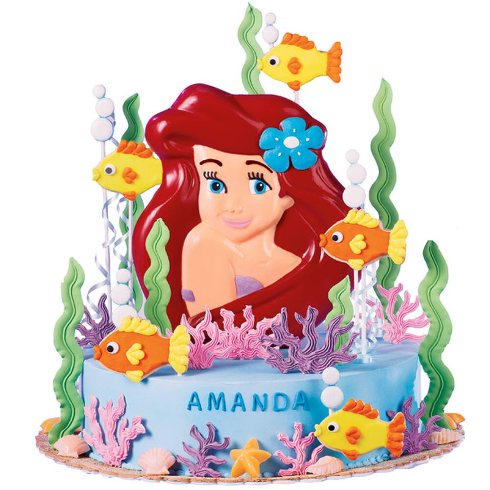 Ariel Cake Decorations Disney Princess Ariel Cake Pan Wilton
