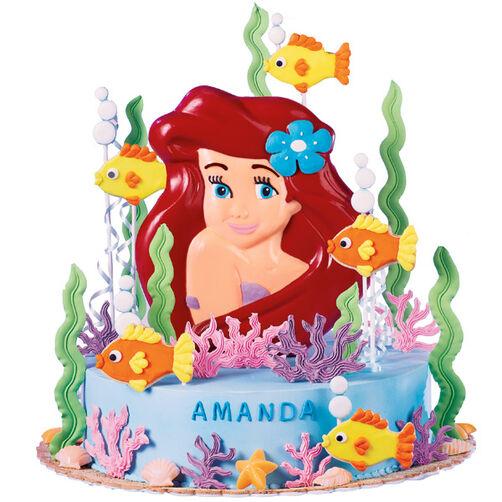 Ariel's Splashy Celebration Cake