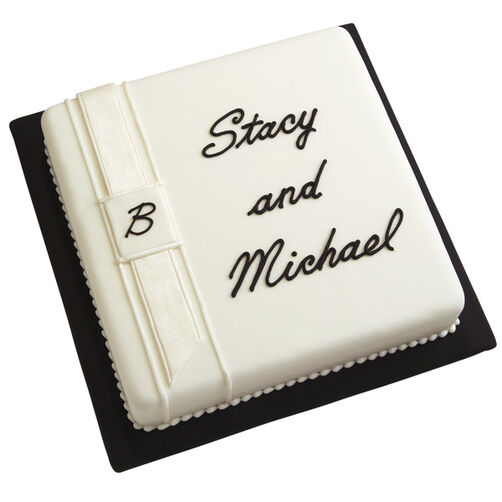 Personalized Easy Wedding Cake