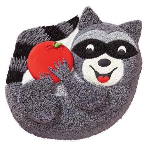 Rascally Raccoon Cake