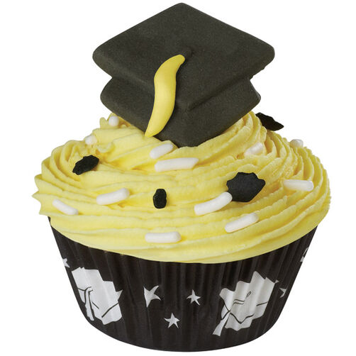 Star Graduate Mini Cupcake
