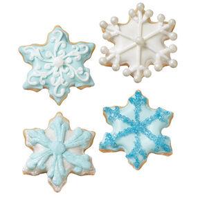 Warm Winter Snowflake Cookies