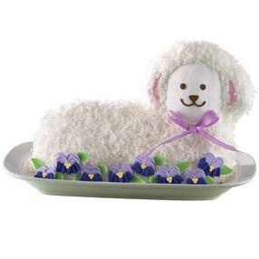 Sweet Floral Lamb Cake
