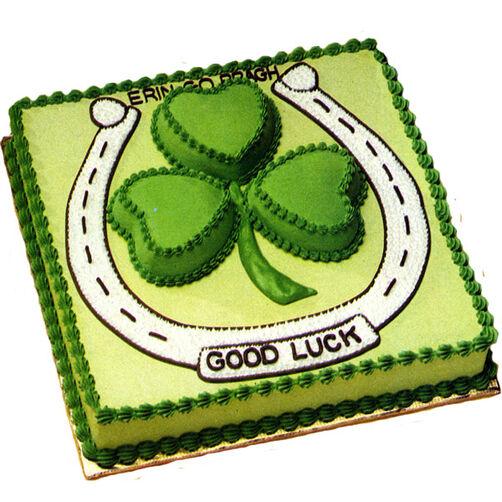 Shamrock Sensation St. Patrick's Day Cake