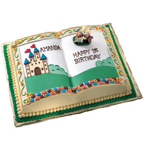 Cake Designs Book Shape : Book Cake Pan Wilton