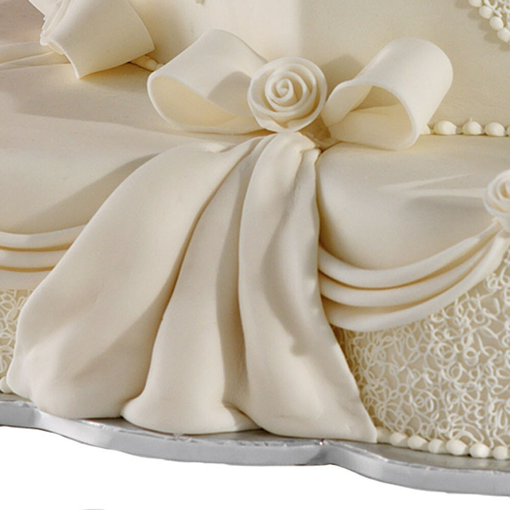 Cake Decorating Tips Using Fondant : Fondant Veil Wilton