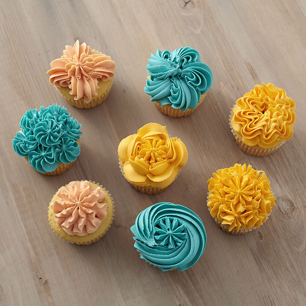 8 Ways To Decorate Cupcakes Using Tip 1G