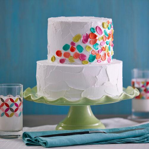 Spot of Color Celebration Cake