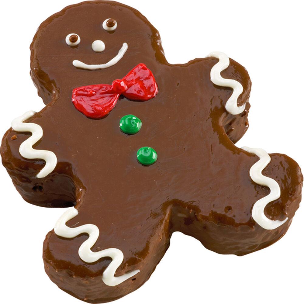Sweet Gingerbread Boy Mini Cake | Wilton