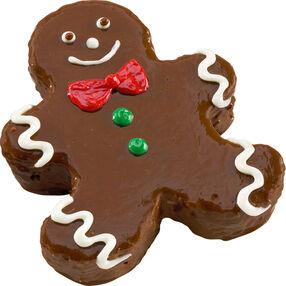 Sweet Gingerbread Boy Mini Cake