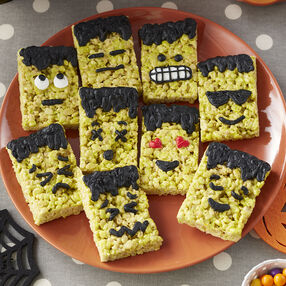 Frankenstein Cereal Treats