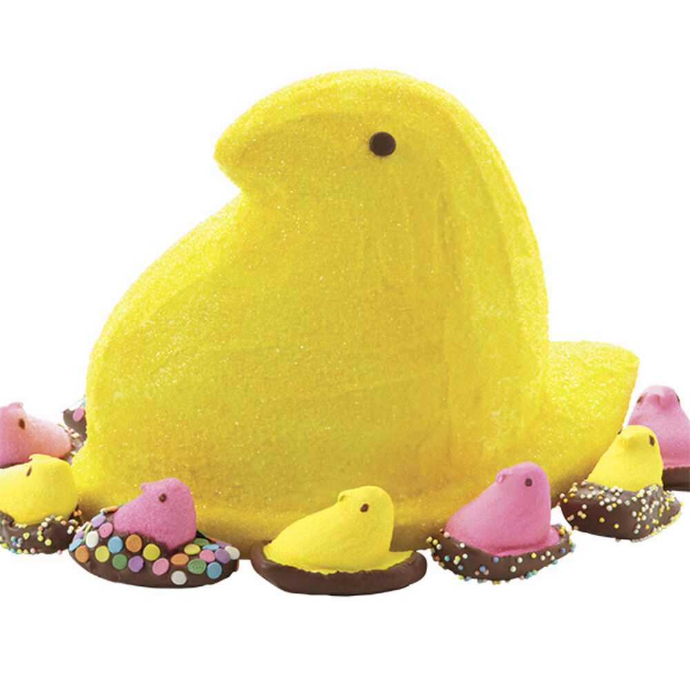 Easter Peeps 3 D Cake And Candy Dipped Chicks Wilton
