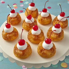 Coconut Pineapple Upside Down Cupcakes