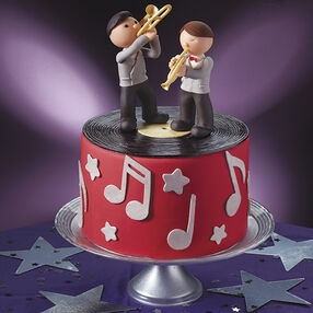 1940s Decade Cake: Strike Up The Band!