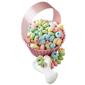 Candy Necklace Basket