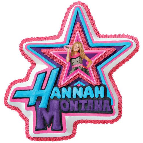 The Hannah Montana Cake