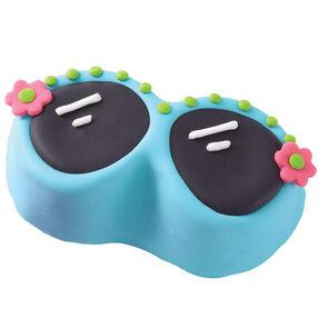 Summer Sunglasses Mini Cake