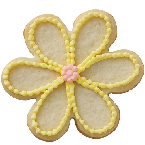 Dainty Petals Flower Cookie