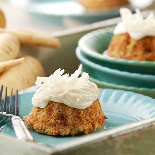 Parsnip Mini Cakes