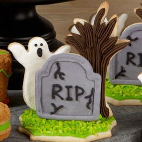 Ghostly Graveyard Cookies