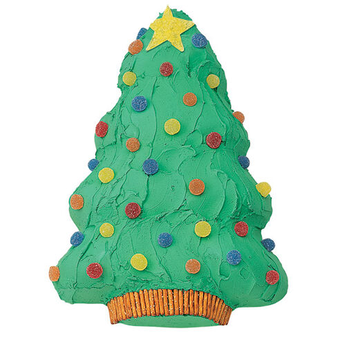 Holiday Tree Cake
