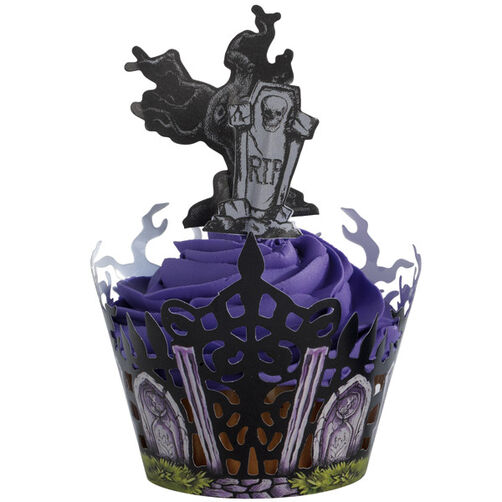 Haunted Manor Cupcake
